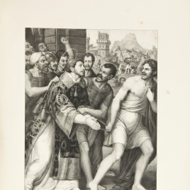 Saint Stephen is led to Martyrdom