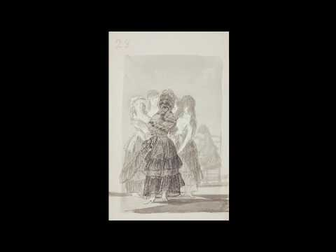 "Madrid Sketchbook. Goya. Drawings. ""Only my Strength of Will Remains"""