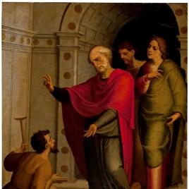 San Pedro curando al paralítico