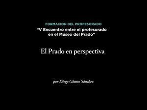 El Prado en perspectiva