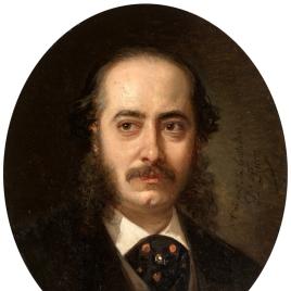 El pintor Manuel Castellano