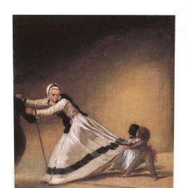 Goya : el capricho y la invención [Material gráfico] : cuadros de gabinete, bocetos y miniaturas.