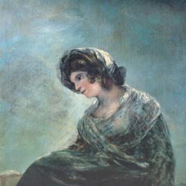 Goya [Material gráfico] : la lechera de Burdeos / Museo Nacional del Prado.