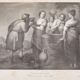 Rebeca y Eliezer