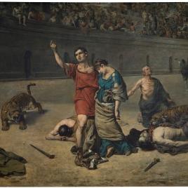 Eudoro y Cimodocea en el anfiteatro