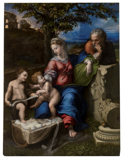 The Holy Family under an Oak Tree