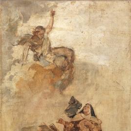 Santa Teresa de Jesús en gloria (boceto)