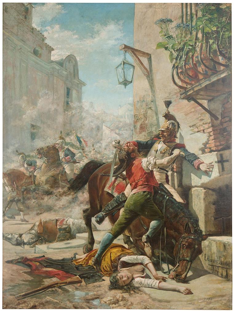 La lucha en las calles. <em>Manuela Malasaña</em>