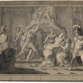 Muerte de Egisto y Clitemnestra