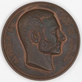 Medalla de la Exposición Nacional de Bellas Artes de 1884