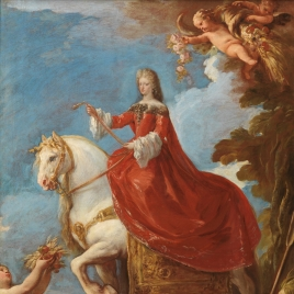 Maria Anna of Neuburg, Queen of Spain, on Horseback