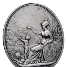 Minerva y el templo de la Sabiduría