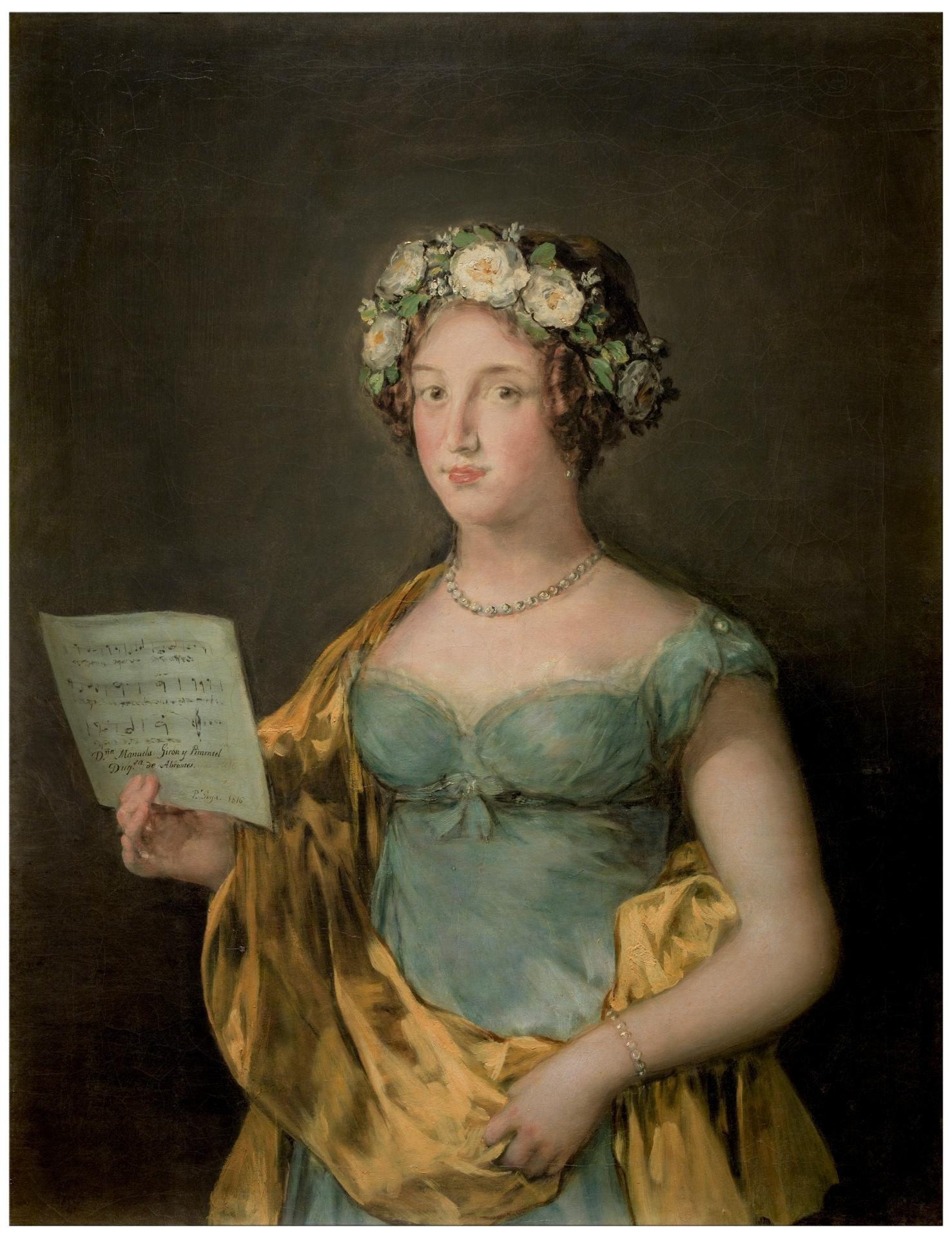 480c2bf05668 The Duchess of Abrantes - The Collection - Museo Nacional del Prado
