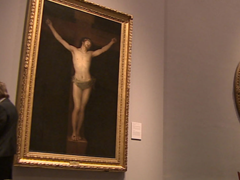 El <em>Cristo</em> de Goya, catalogada como la obra más original