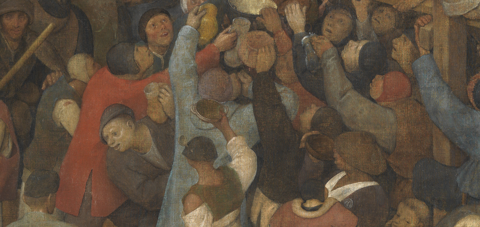 Exposición didáctica: El vino de la fiesta de San Martín, de Pieter Bruegel el Viejo