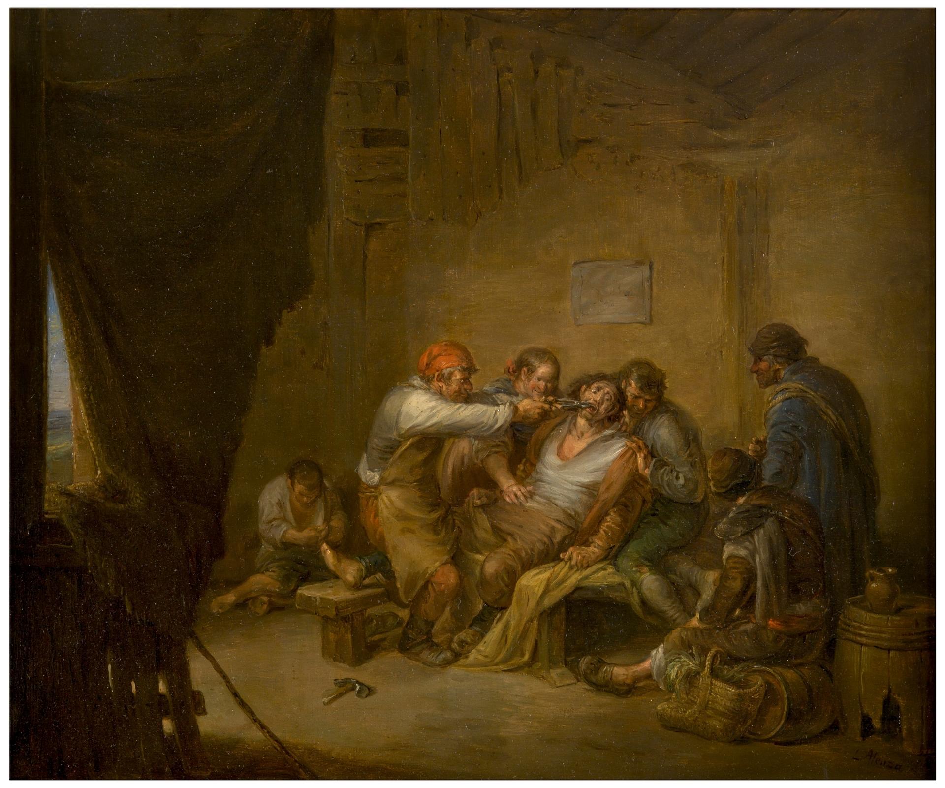 El sacamuelas - Colección - Museo Nacional del Prado