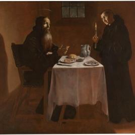 La cena de San Benito