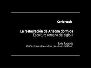 Conferencia: La restauración de Ariadna dormida, escultura romana del siglo II