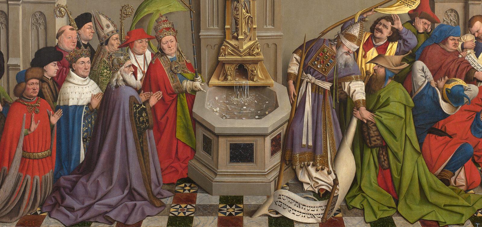 Exposición. La Fuente de la Gracia. Una tabla del entorno de Jan van Eyck