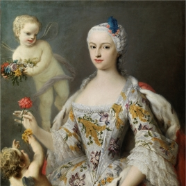 The Infanta María Antonia Fernanda of Bourbon