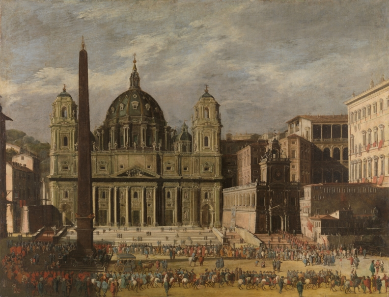 Exterior of Saint Peter's, Rome