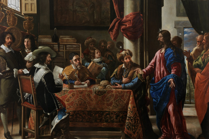 La vocación de San Mateo, de Juan de Pareja