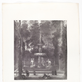 The Fountain of the Tritons in the Island Garden, Aranjuez
