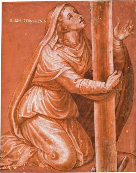 La Magdalena al pie de la Cruz - Colección - Museo Nacional del Prado