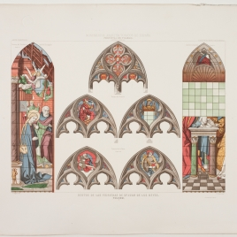 Vidrieras de San Juan de los Reyes de Toledo