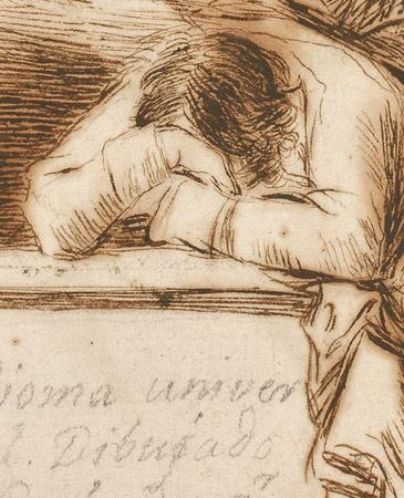 Solo la voluntad me sobra. Los dibujos de Francisco de Goya