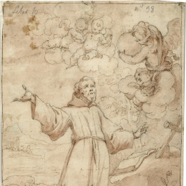 Saint Francis of Assisi in Ecstasy