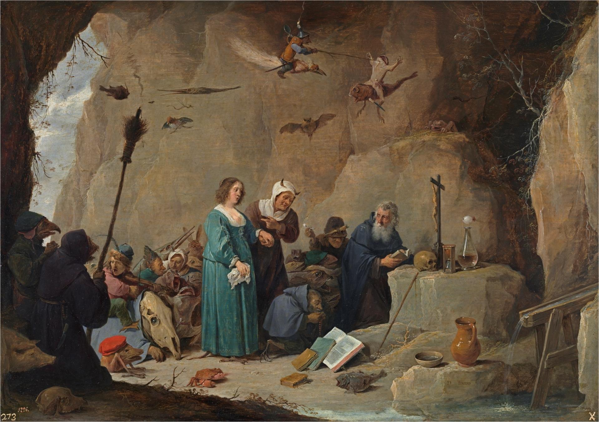 Картинки по запросу tentaciones de san antonio david teniers