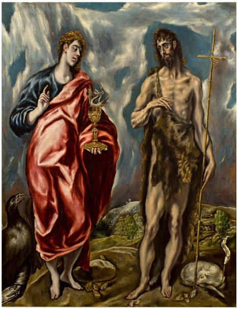 John the Baptist and Saint John the Evangelist
