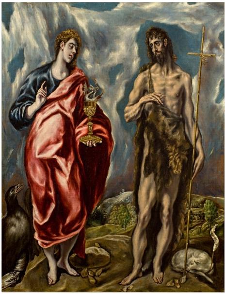 San Juan Bautista y san Juan Evangelista