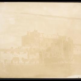 Ruinas del Casino Savorelli después del sitio de Roma