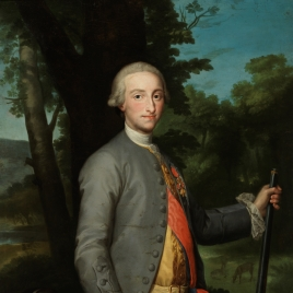 Portrait of King Charles IV as Prince of Asturias