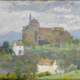El convento de flores (Álora)