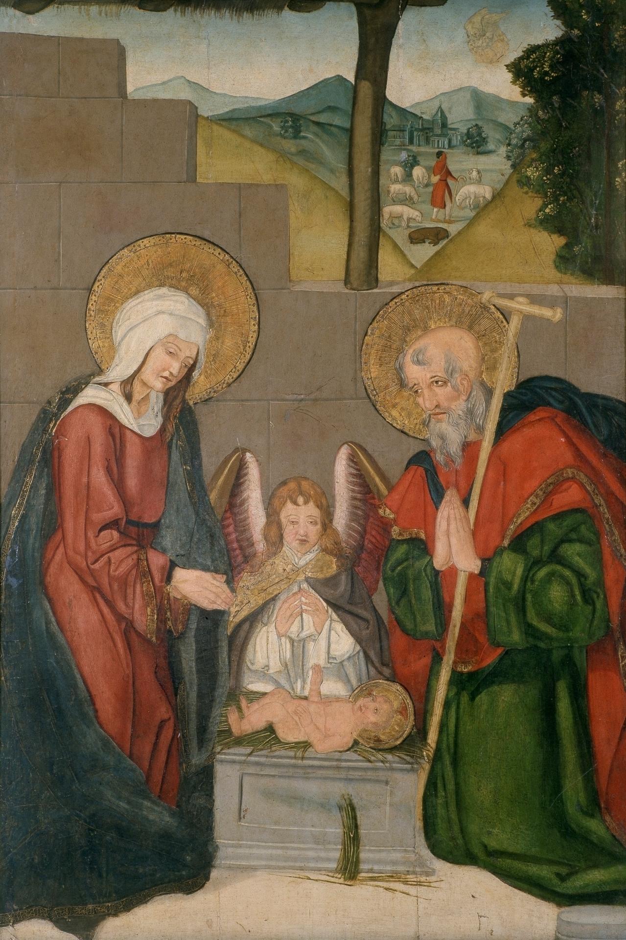 El Nacimiento del Niño Jesús - Colección - Museo Nacional del Prado