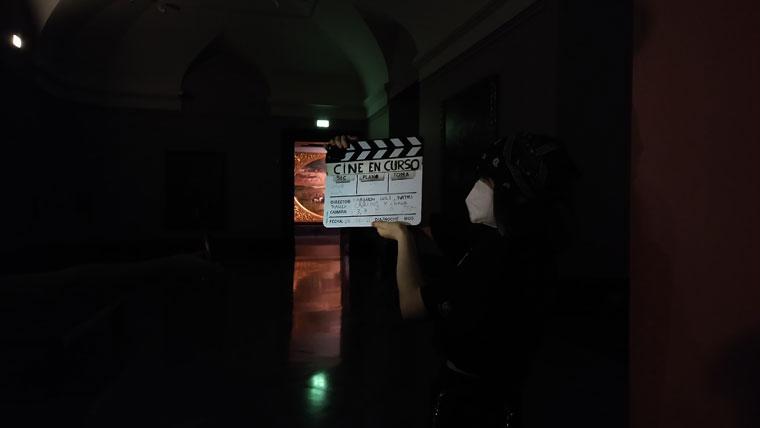 Diarios de rodaje en el Museo del Prado