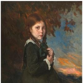 María del Carmen, hija del pintor