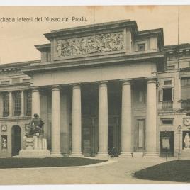 Museo del Prado, vista de la fachada oeste o de Velázquez