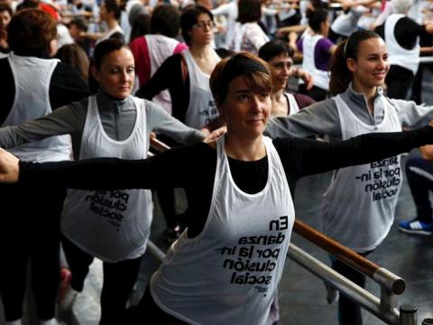 El baile sale a la calle con motivo del Día Mundial de la Danza