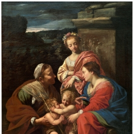 The Virgin and Child with Saints Elizabeth, John the Baptist and Catherine