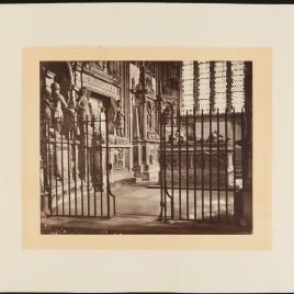 Catedral de Canterbury, capilla de san Miguel, también conocida como capilla de los Guerreros o capilla Buff