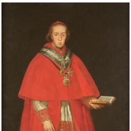 El cardenal don Luis María de Borbón y Vallabriga