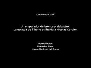 """Conferencia: """"Un emperador de bronce y alabastro: la estatua de Tiberio atribuida a Nicolas Cordier"""""""