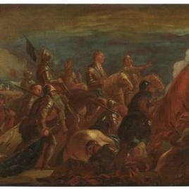 Prisión del condestable de Montmorency, en la Batalla de San Quintín