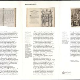 Bibliotheca Artis : tesoros de la Biblioteca del Museo del Prado = Bibliotheca Artis : treasures from the Museo del Prado Library / Museo Nacional del Prado.