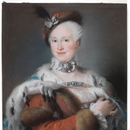 The Infanta María Luisa of Bourbon and Saxony