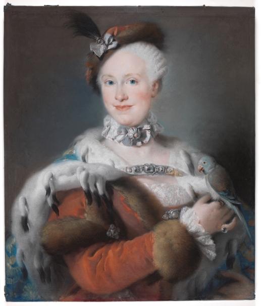 La infanta María Luisa de Borbón y Sajonia